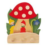 Ostheimer Coat Rack - Mushroom with Dwarves