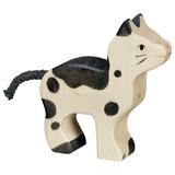 Holztiger Black & White Cat