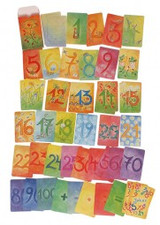 Waldorf Number Cards (Supplementary)