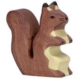 Holztiger Brown Squirrel on Hind Legs