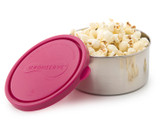 Kids Konserve Round Food Container 16 oz - Magenta