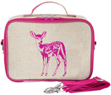 So Young Raw Linen Lunch Box - Fawn