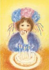 Birthday - Postcard