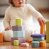 Grimm's Building Blocks Coloured Tree Slices