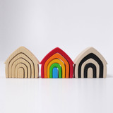 Grimm's Wooden House - Rainbow
