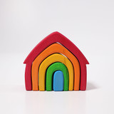 Grimm's Wooden House - Rainbow