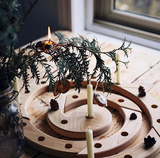 Grimm's Wooden Birthday and Advent Spiral