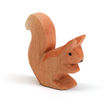 Ostheimer Wooden Squirrel Sitting