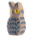 Ostheimer Wooden Owl Blue