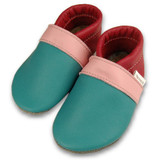 Formreich Soft Sole Baby Shoes - Turquoise/Pink/Berry