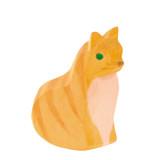 Ostheimer Wooden Cat - Sitting