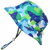 AquaDry Bucket Hat - Blue Shark