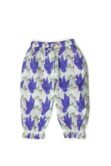 Kate Quinn Gathered Ruffle Cotton Pant - Unicorn
