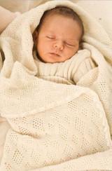 Disana Knitted Baby Blanket