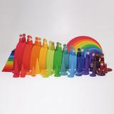 Grimm's Rainbow Forest - 12 pcs