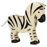 Holztiger Male Zebra - White Tail