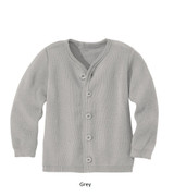 Disana Merino Wool Cardigan Grey