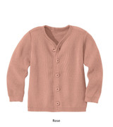 Disana Merino Wool Cardigan Rose