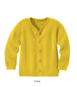 Disana Merino Wool Cardigan Curry