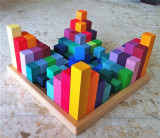Grimm's Stepped Pyramid Building Set 4 x 4