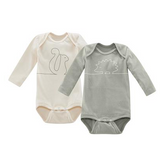 Living Crafts Organic Cotton Bodysuits Dabble - Pack of 2