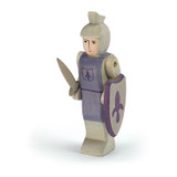 Ostheimer Wooden Knight Blue with Shield and Sword