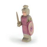 Ostheimer Wooden Knight Red with Shield and Sword
