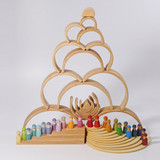 Grimm's Large Rainbow - 12 Pieces - Natural