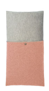 Disana Boiled Wool Cushion Cover - Rose and Grey