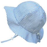Jan & Jul Cotton Sun Hat - Blue Stripe