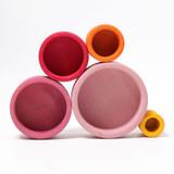 Grimm's Stacking Bowls - Lollipop (10353)