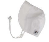 Puffin Gear Linen Bonnet - White