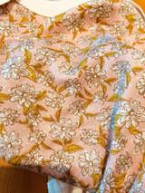 Milkbarn Bamboo Onesie Short-Sleeve - Rose Floral