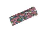 Purple Floral Bow Headband by Milkbarn - Bamboo