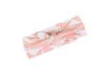 Pink Fox Bow Headband by Milkbarn - Organic Cotton