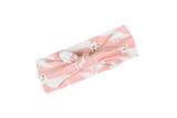 Pink Fox Bow Headband by Milkbarn - Organic Cotton