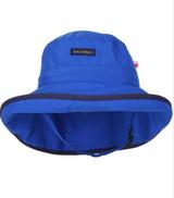 Snug As A Bug SPF 50 Adjustable Nylon Hat - Royal Blue