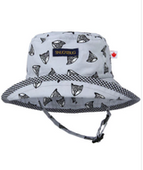 Snug As A Bug Cotton Sun Hats - Be Brave Fox