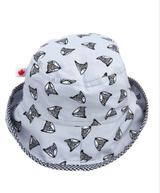 Snug As A Bug Cotton Sun Hats - Be Brave Fox
