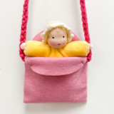 Pocket Dolls with Carrying Pouch (More Colours)