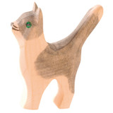 Ostheimer Wooden Cat Head and Tail Up
