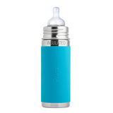 Pura Kiki Insulated Bottle 11oz - Aqua Sleeve
