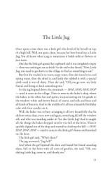 Bedtime Storytelling - A look inside