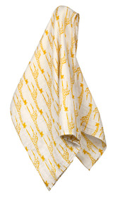 Milkbarn Organic Cotton Swaddle - Yellow Giraffe