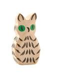 Ostheimer Wooden Owl White