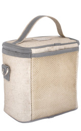So Young Raw Linen Cooler Bag