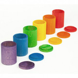 Grapat Coloured Cups with Lids