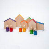 Grapat Coloured Houses and Nins
