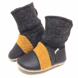 Nooks Wool Booties - Harvest
