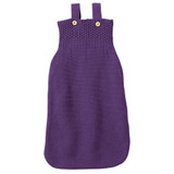 Disana Knitted Sleeping Bag  - Plum